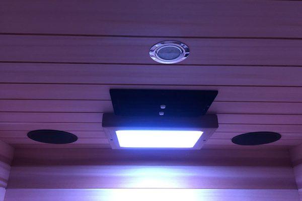 infraroodsauna 120 deluxe plafond