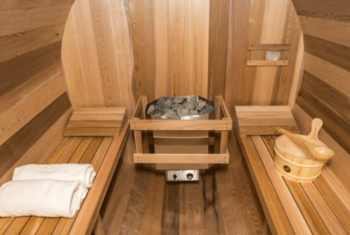 how to build a barrel sauna from scratch